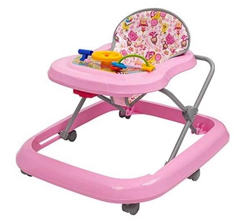 Andador Toy até 15kg Rosa - Tutti Baby